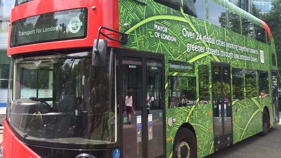 Londons første el-double-decker står klar