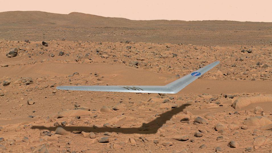 Dette kan bli det første Mars-flyet