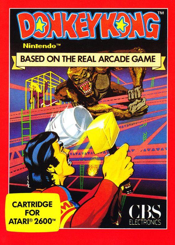 Tidlig på åttitallet lisensierte Nintendo villig bort spillene sine til andre selskaper. Her har vi et Donkey Kong-spill der verken Mario eller Donkey Kong minner særlig mye om dagens versjoner.