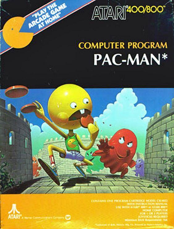 Apropos spillhelter representert på en noe uvanlig måte - her er Pac Man.