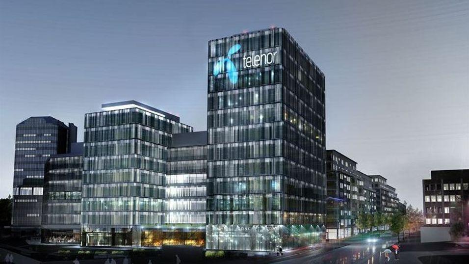 Slik blir Telenors nye hovedkvarter i Stockholm.