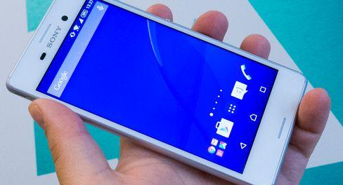 M4 Aqua er en billig telefon som har mye til felles med Sonys toppmodeller.