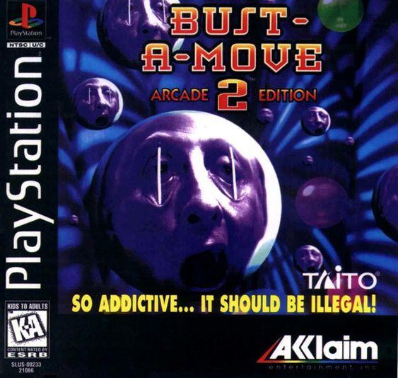 Bust a Move-spillene er fargerike og søte. Dette coveret? Bare veldig skummelt.