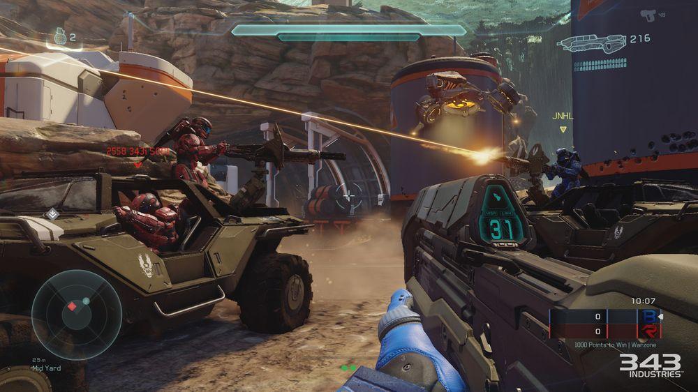 I Warzone møter du både andre spelarar og kunstig intelligens.