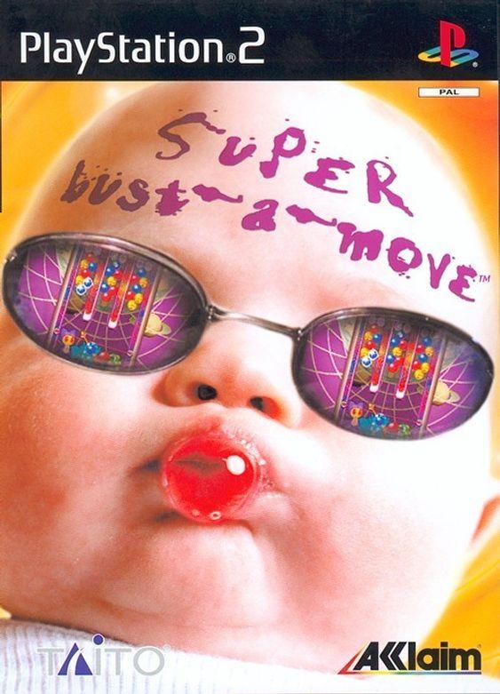 Nok et Bust a Move-cover fra Acclaim. Blergh! Babyer er det verste som finnes.