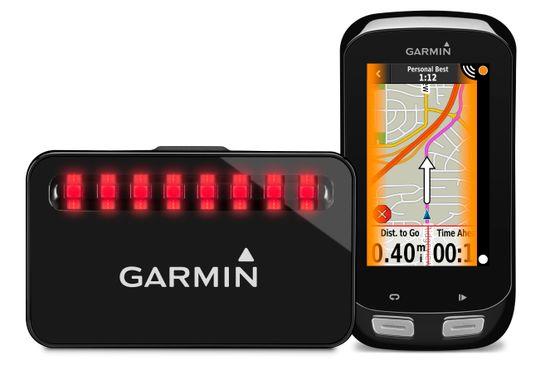 Sykkelradaren snakker i utgangspunktet aller best sammen med GPS-en Edge 1000.