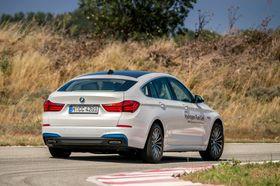 BMW 5-serie med hydrogen-drift.