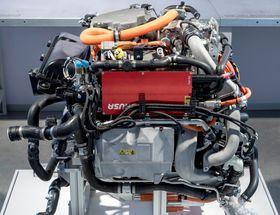 245 hestekrefter ligger og lurer i denne hydrogenmotoren.
