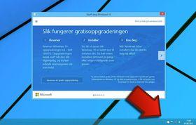 Slik kan du reservere en oppgradering til Windows 10.