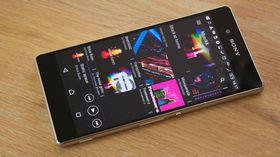 Xperia Z3+ er dagens toppmodell fra Sony.