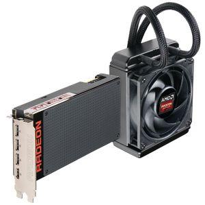 R9 Fury X er vannkjølt og kommer med en påmontert radiator.