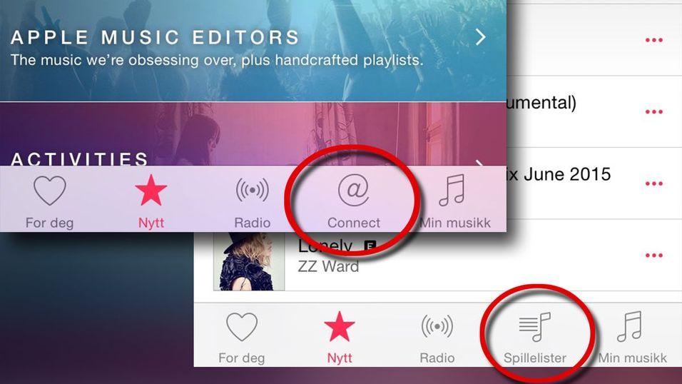 Fjern den ubrukelige Connect-knappen, og bytt den ut med noe nyttig.
