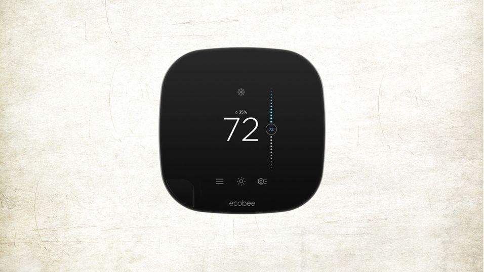 Den nye, smarte termostaten Ecobee3.