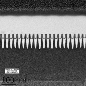 IBMs 7-nanometernoder. Det begynner å bli trangt.