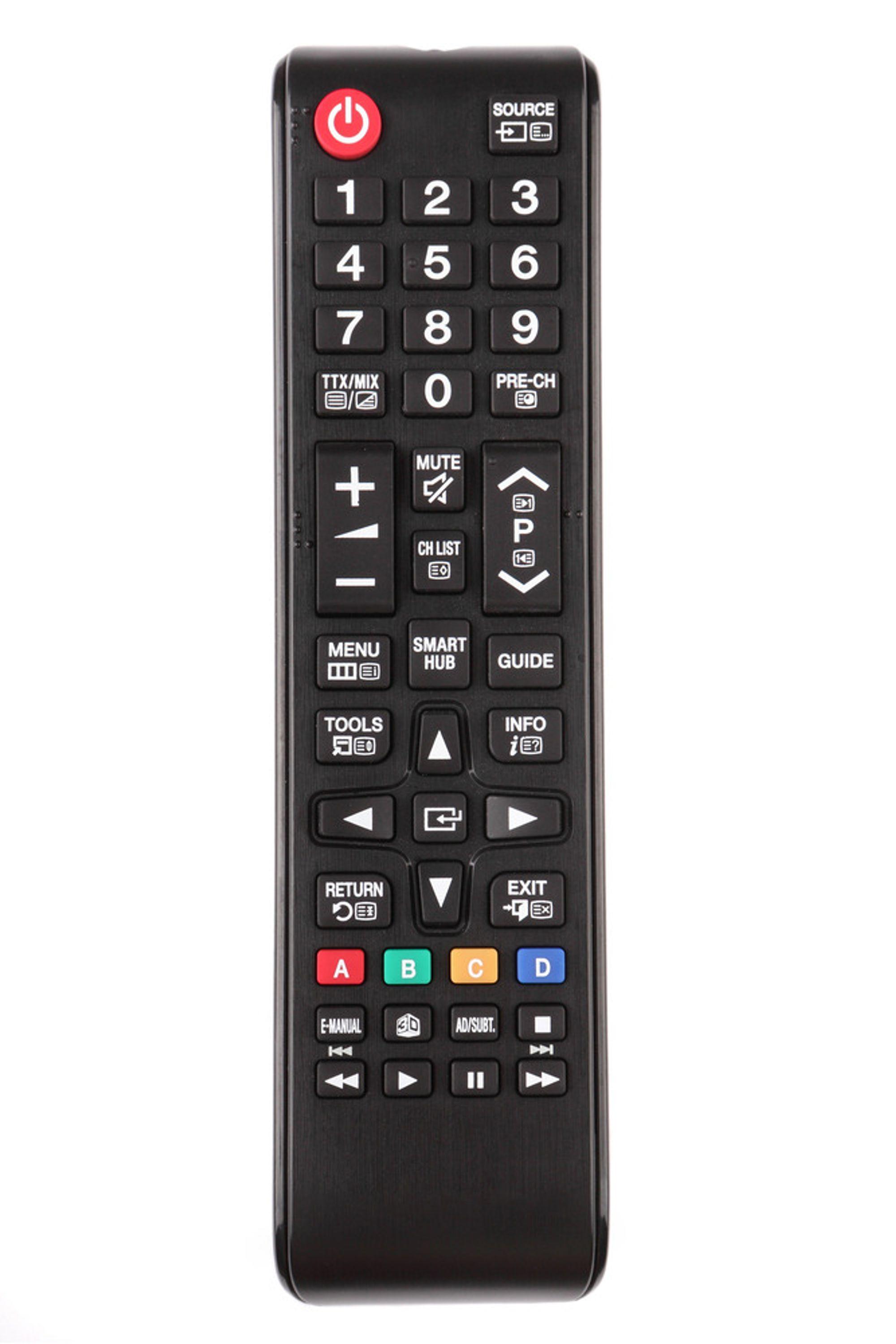 enkel fjernkontroll tv