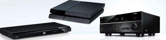 De fleste forsterkere, Blu-ray-spillere og spillkonsollen PlayStation 4 har støtte for HDMI CEC.