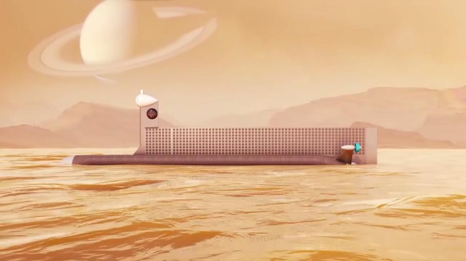 Slik skal Titan-ubåten se ut.