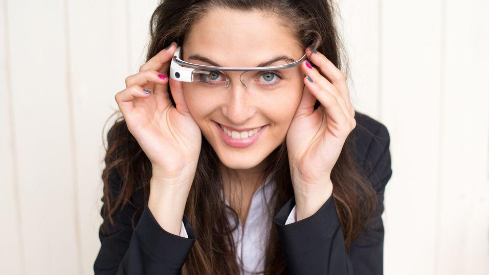 Det er ennå uvisst hvordan de nye Enterprise Edition-brillene blir seende ut. Dette er den forrige modellen.