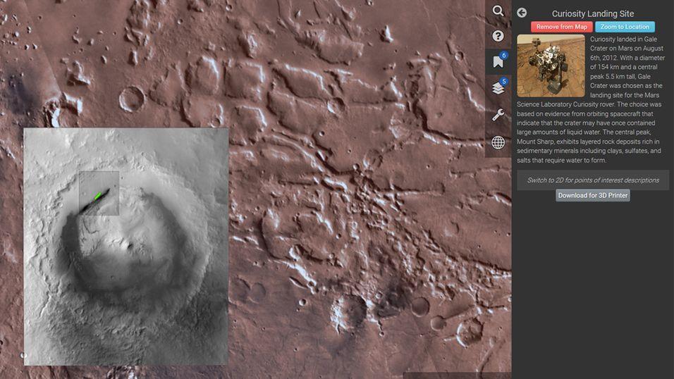 Nå kan du besøke Mars på PC-en din