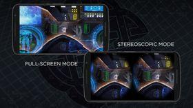 Du kan velge om du vil bruke VR-briller/Google Cardboard eller ikke.