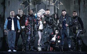 Her er hele Suicide Squad samlet, med unntak av Jokeren.
