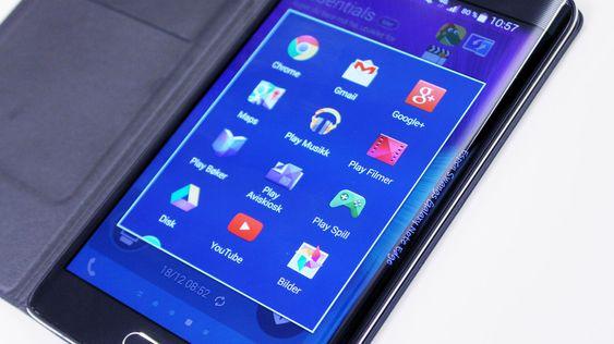 Galaxy Note 4 og Galaxy Note Edge (bildet) kan få oppfølgere om under en måned.