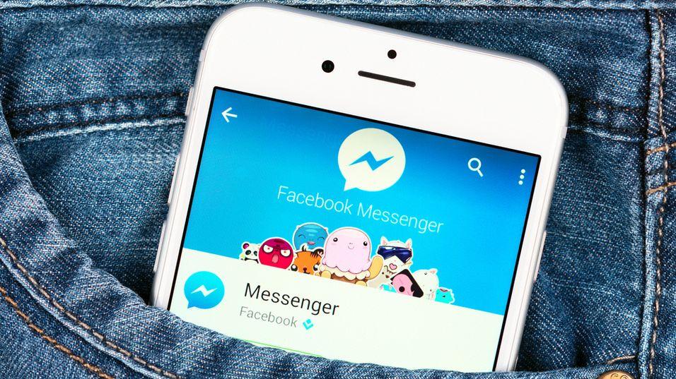 Facebooks Messenger-app skal visstnok snart få en stemmeassistent-tjeneste.