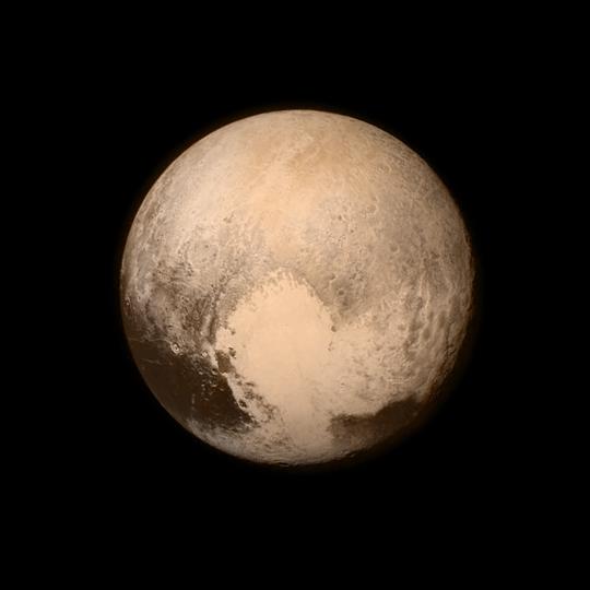 Ser du Pluto på Pluto?
