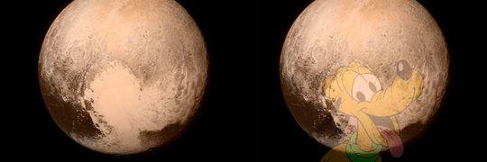 Pluto på Pluto!