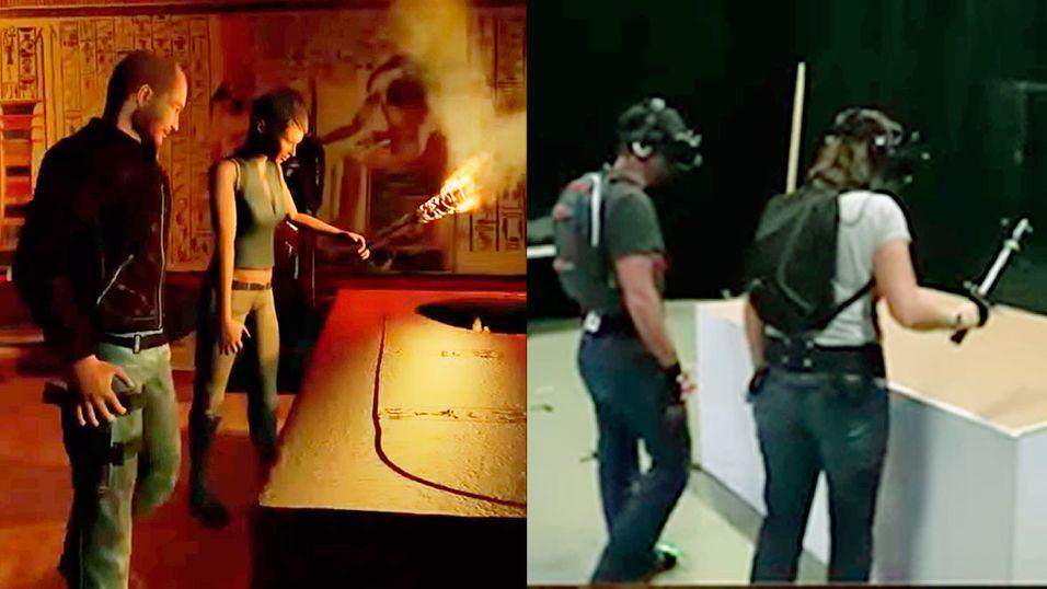 Se hvordan VR fungerer når to spiller sammen