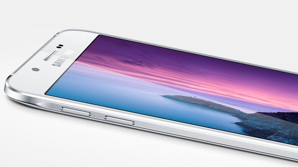 Samsung Galaxy A8 er selskapets tynneste mobil noen gang