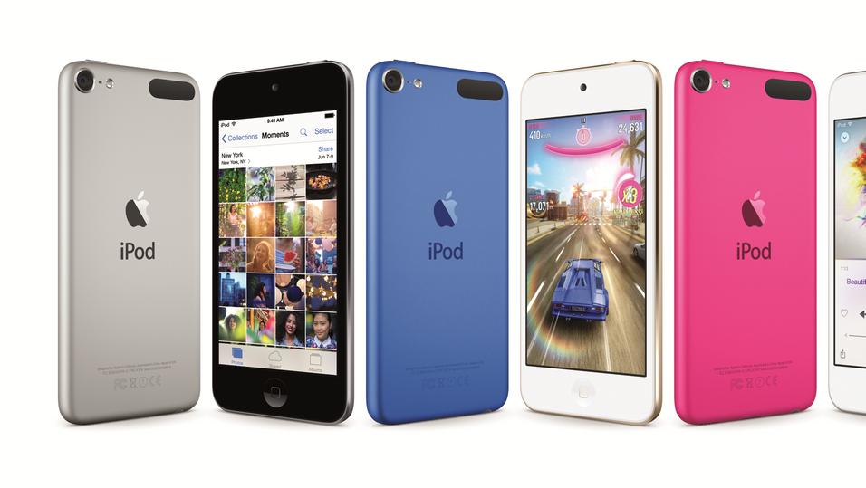 Nye iPod Touch.