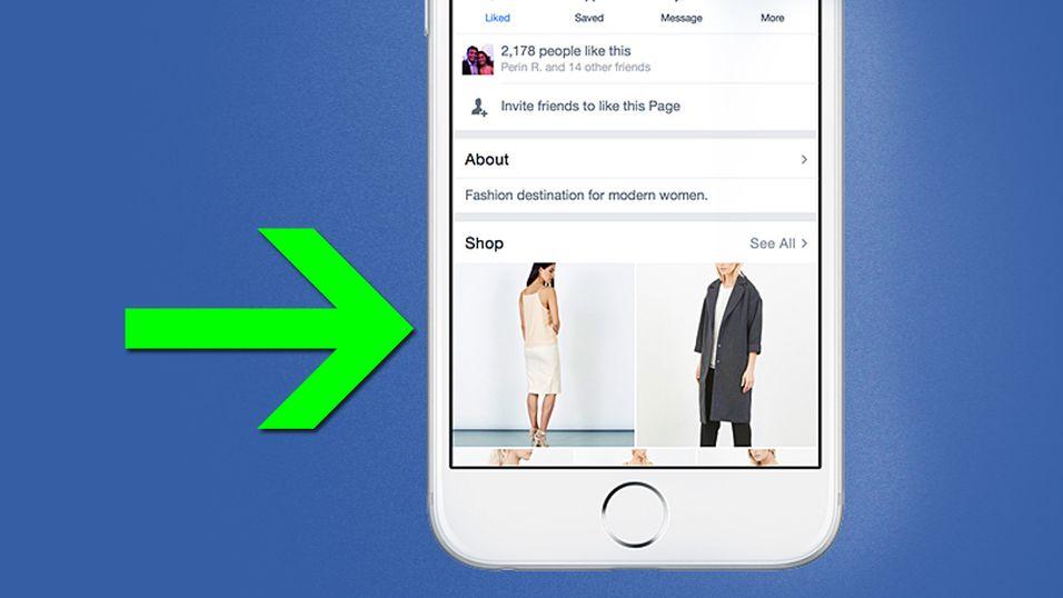 Snart kan du få din egen minibutikk på Facebook
