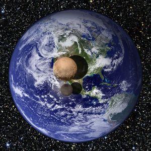 Nå vet vi nøyaktig hvor stor Pluto og Charon er.