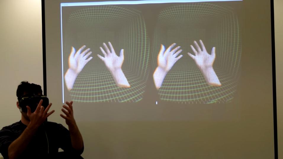Den nye teknologien gjør det mulig å gjenskape sine egne hender i VR-verdenen.