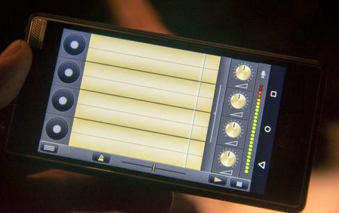 Egne musikkapper hører til. Her er en app som lar deg loope lyder du tar opp før telefonen spiller dem av i lag. En lettversjon av det Jarle Bernhoft er kjent for å gjøre på scenen.