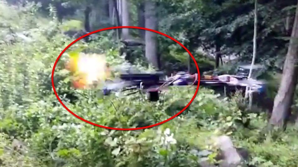 Denne ulovlige dronen kan skyte med pistol