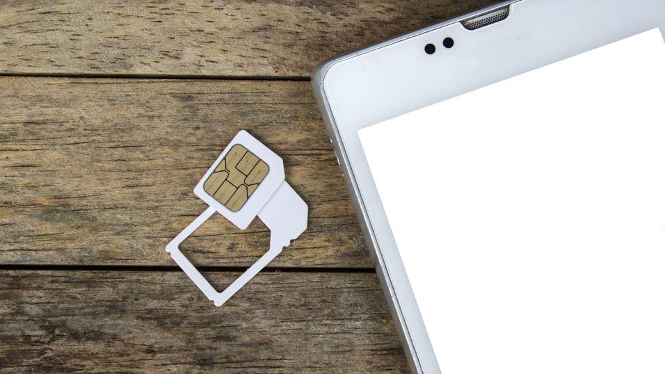 Snart kan SIM-kortene i mobiltelefonene forsvinne