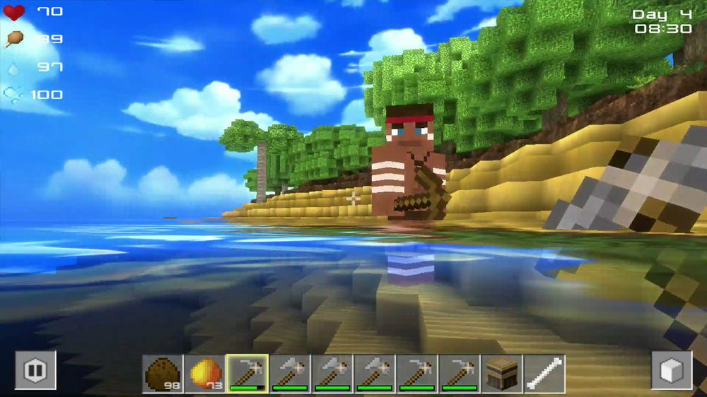 ANMELDELSE: Cube Life: Island Survival