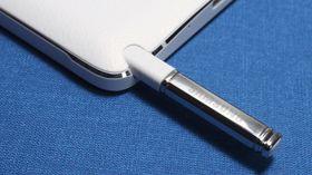 Slik ser S Pen i Galaxy Note 4 ut.