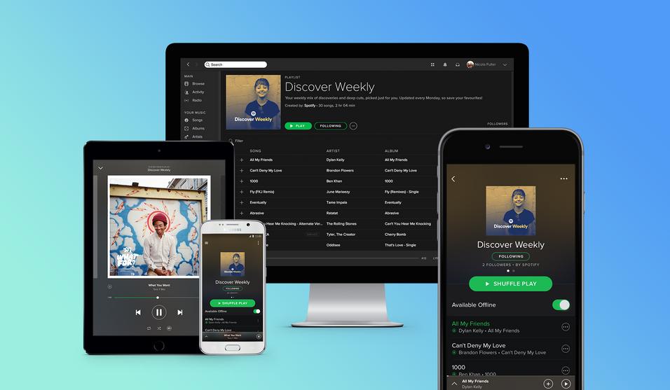 «Discover Weekly» er det seneste Spotify-tilskuddet.