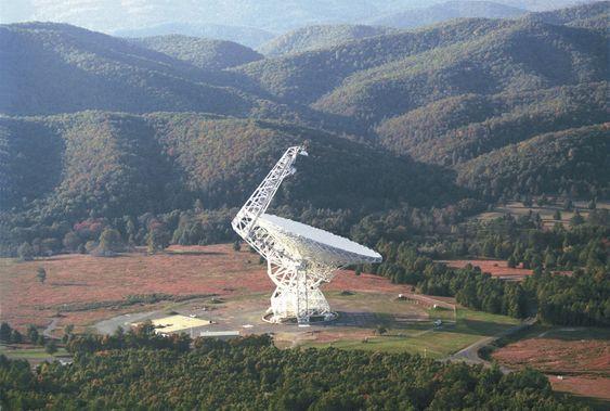 Green Bank-teleskopet er det største teleskopet i verden.
