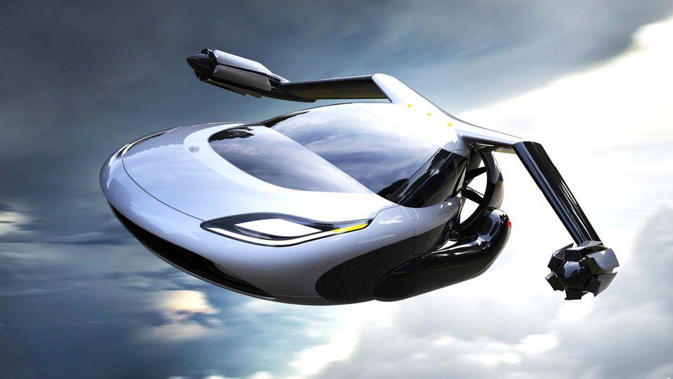 Her ser du bilen som kan fly i 300 km/t