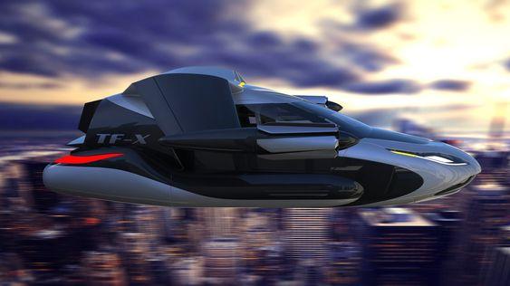 Flyvebilen skal kunne fly 800 kilometer per lading.