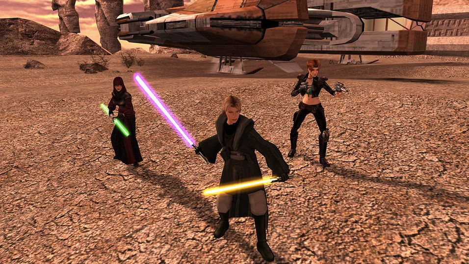 Knights of the Old Republic 2 har fått en oppdatering etter ti år