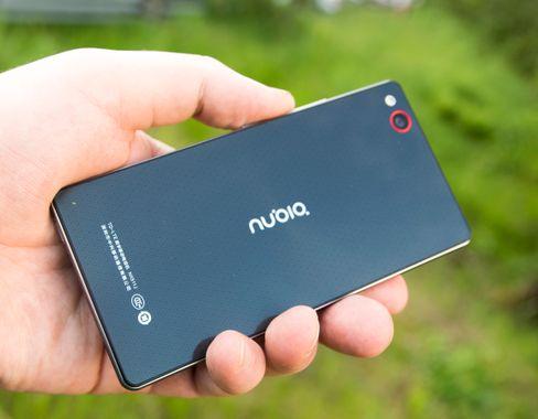 Nubia Z9 Mini er laget i metall og glass, og har forholdsvis kraftig innmat.