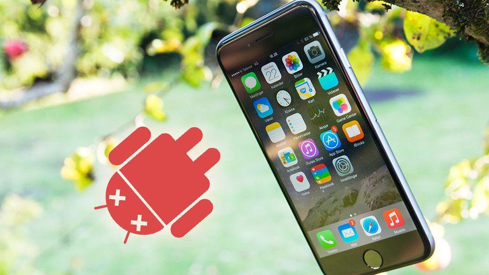 iPhone vinner stadig over Android når brukerne skal velge, ifølge Apples siste tall.