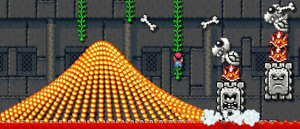 Du kan vere så sadistisk du berre vil i Super Mario Maker.
