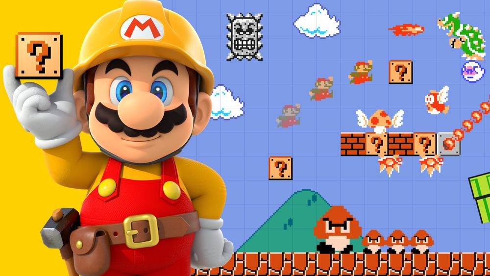 SNIKTITT: Super Mario Maker