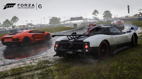 Skitvêr er noko av det du kan glede deg til i Forza Motorsport 6.
